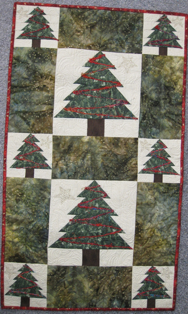 Christmas Tree Quilting Patterns Free : Free Quilting Patterns For Christmas Tree images